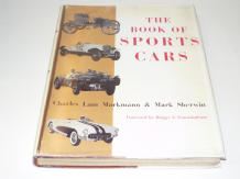 Book of Sports Cars : The (Markham & Sherwin 1963) Ex Lib